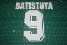 Fiorentina 98/00 #9 BATISTUTA Homekit Nameset Printing