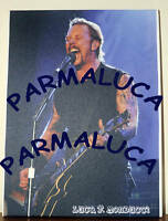 PRL) PHOTO JAMES HETFIELD METALLICA FOTO TELA CANVAS NUMERATA MUSICA COLLEZ.
