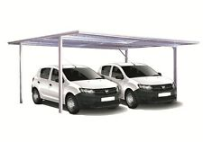 Spanbilt YardPro Double Carport 5.9m x 5.5m x 2.1m  Flat Roof Colour