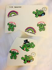 Vintage Scratch And Sniff Stickers Spearmint Frog 80's Trend 1980 Sticker Lot