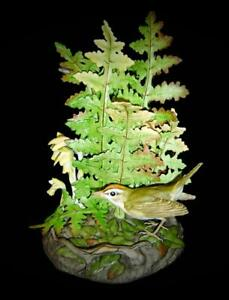 Vintage Rare Boehm Porcelain Oven Bird Figurine Circa1970 Limited Edition Of 750