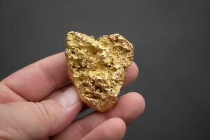 LARGE AND INTRICATE NATURAL GOLD NUGGET FROM ALASKA - 138.5 grams