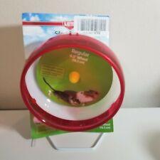 Kaytee Hamster Silent Spinner 6 1/2 inch Exercise Wheel Red - Pet Supplies