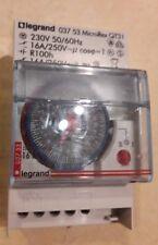 Legrand 03753 Orologio analogico con impostazione del programma