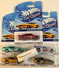 2015 Cool Classics * K Case Set of 5 Cars *  ORANGE Otto Cardbacks * K Case * F5