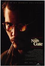 THE NINTH GATE Movie POSTER 27x40 B Johnny Depp Frank Langella Lena Olin
