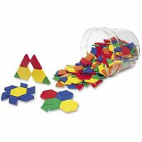 Learning Resources Pattern Blocks Grades Pre-K and Up LER0134