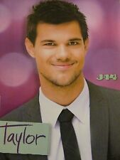 Taylor Lautner, Cody Simpson, Double Full Page Pinup