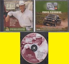GM Platinum Card Presents Strait From George 2002 GEORGE STRAIT Tour CD RARE