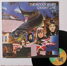 "LP  The Moody Blues   ""Caught live + 5"""