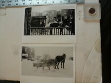 Vintage Photo-2 Photos Sweitzer Album Wagon Delivery 1934 Allentown PA 1993