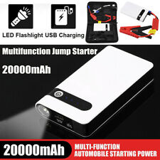 20000mAh 12V Car Jump Starter Portable USB Power Bank Battery Booster Box Clamp