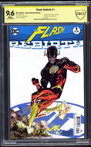Flash Rebirth #1 CBCS 9.6 SS Nicholas Gonzalez (Rupture in FLASH) 1st Godspeed