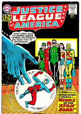 JUSTICE LEAGUE OF AMERICA #14 (FN+) Atom Joins the JLA! 1962 Silver-Age Classic