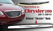 Chrysler 200 2011-14 WING HOOD MOLDING GRILLE MODIFIED EMBLEM BADGE 05182602AB
