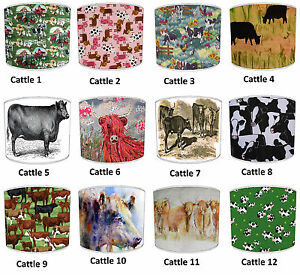 Highland Cows Cattle Lampshades Ideal To Match Cushions Covers Bedding Curtains