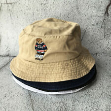 Embroidery USA Hockey Teddy Bear Baseball Cap Daddy Hat Bucket Hat 7*Colors NEW
