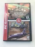 Enemy Engaged & Fly! 2k Dual Pack Pc Gaming Good Condition