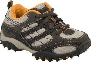New Stride Rite Athletic Shoes Retrograde Lace Brown Orange 4.5 M