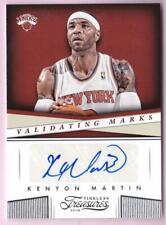 KENYON MARTIN 2013-14 TIMELESS TREASURES VALIDATING MARKS AUTO KNICKS AUTOGRAPH