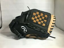 """RAWLINGS PLAYMAKER 10.5"""" TEE BALL GLOVE RIGHT HAND THROW PM105RB LEATHER PALM"""