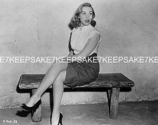ACTRESS  DAWN RICHARD SEXY LEGGY IN A SKIRT 8  X 10  LEGS FEET PHOTO A-DR11