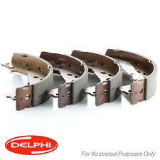 Genuine Delphi Rear Brake Shoe Set - LS1233