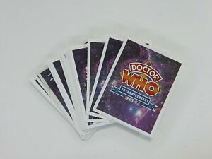 Doctor Who 30th Anniversary Trading Cards 1963-1993 Complete & Promo Card