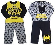 Boys Pyjamas Batman 2 Pack Set 3-12 Years Long