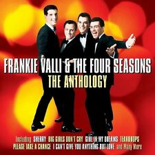 FRANKIE VALLI & THE FOUR SEASONS - THE ANTHOLOGY 1956-1962 (NEW SEALED 2CD)
