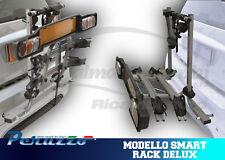 631- PORTABICI POSTERIORE PER AUTO SMART PERUZZO MODELLO SMART RACK DELUX 2 BICI