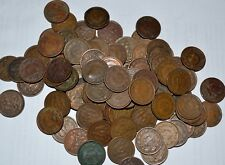 MEXICO lot UNSEARCHED 1905 - 1949 UN CENTAVO world foreign snake 10 COINS