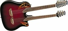 Ovation Celebrity CSE225-RRB Acoustic-Electric Guitar, Ruby Red Burst