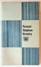 Vintage General Telephone System Personal Telephone Directory - NEW