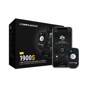 Compustar CSX1900-S 2-Way Remote Car Auto Start System W/LTE Module w/ Drone X1