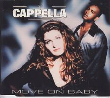Cappella 12 track cd single Move On Baby 1994