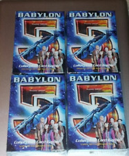 Babylon 5 Collectible Card Game Premier Edition Set of 4