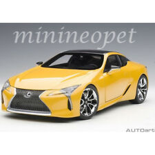 AUTOart 78847 LEXUS LC 500 1/18 MODEL CAR METALIC YELLOW