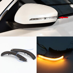 LED Side Mirror Sequential Dynamic Turn Signal Light For Kia Optima K5 2011-2015