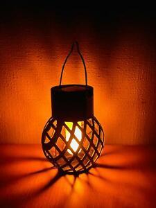 Solar Powered Morocco Hanging Solar Light Lantern Lamp Outdoor Garden Decor Yard