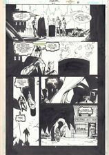 Azrael: Agent of the Bat #60 p.8 Batgirl in No Man's Land 2000 by Roger Robinson
