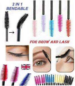 Disposable Mascara Wands Eyelash Brushes Kit Lash Extension Spoolie ApplicatorUK