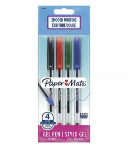 Papermate Jiffy 0.5mm Assorted Gel Pen - Pack of 4