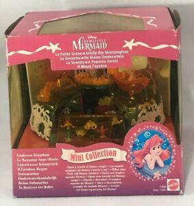 POLLY POCKET 1996 Disney LITTLE MERMAID Undersea Kingdom Mattel BLUEBIRD NEW