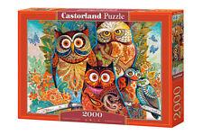 "Brand New Castorland Puzzle 2000 OWLS 36"" x 27"" C-200535"