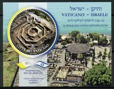 Vatican Stamps 2019 MNH Bilateral Relations JIS Israel Architecture Flags 1v M/S