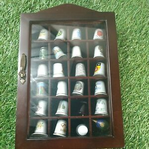 Thimbles collection job lot And Display