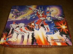 TRANSFORMERS G1 Jigsaw Puzzle 100 PIECES - BOXED - 1984 Complete (2)