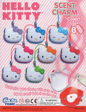 Gacha Tomy Hello Kitty Scent Charms Complete set of all 8