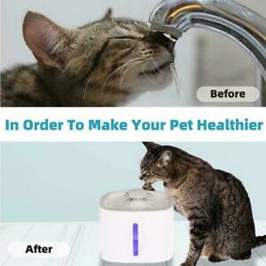 Pet Water Fountains Automatic Water   Dispenser For Cats NEW And Dogs Whites
